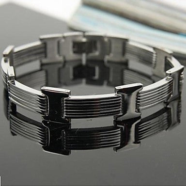 Men's Fashion Personality Titanium Steel Exquisite Bracelets