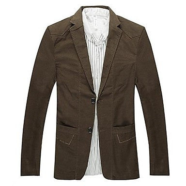 Men's Lapel Slim Jacket(More Colors)
