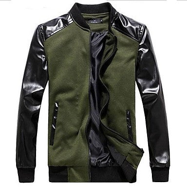 Men's Korean Style Slim Fashion Jacket