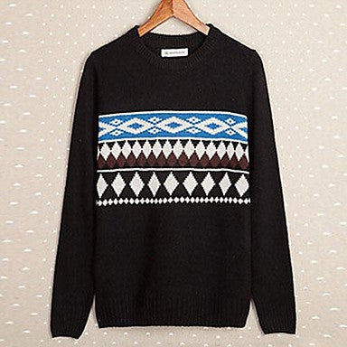 Men's New Sweater T-shirt Turtleneck Sweater Sweater