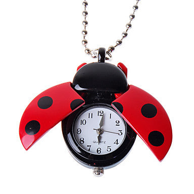 Charming Necklace Watch (Beetle)