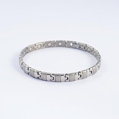 Fashion Men's Titanium Steel Magnetic Health Bracelets