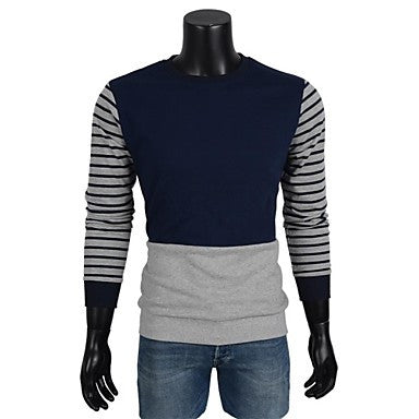 Men's Striped Long Sleeve Hoodies
