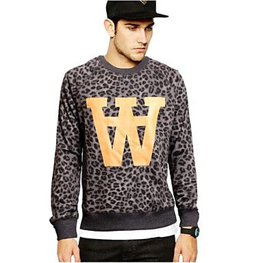 Men's Autumn Casual Sport Long Sleeve Pullovers Hoodies Outerwear