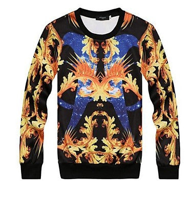 Men's Cool 3D Print Sweatshirt