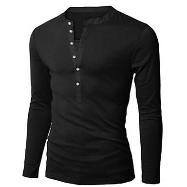 Men's Casual Fashion Slim POLO T Shirt
