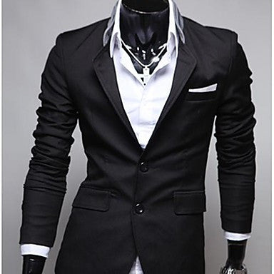 Men's Casual Slim Fit Jacket Blazer Stylish Coat
