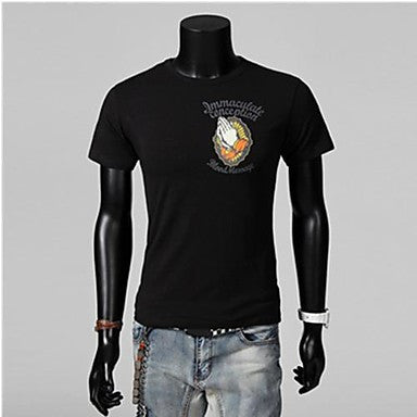 Men's Casual Short Sleeve Print T-Shirt