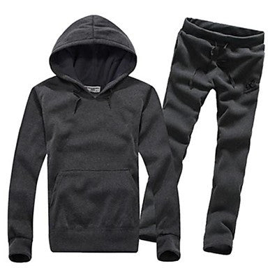 Men's Casual Sports Hoodie Suit