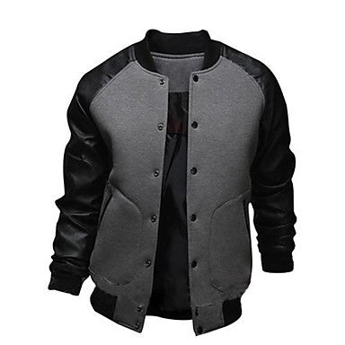 Men's Fashion Casual Baseball Coat