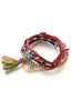 Four in One Mystical Mixed Materials Friendship Bracelet image1