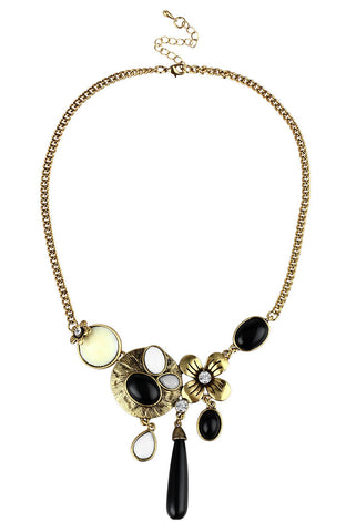 Tuscana Picasso Sun Charm Statement Necklace image1