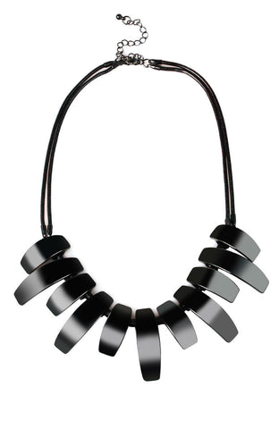 Exoskeletal Living Metal Statement Necklace image1