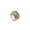 Entropy Row Rhinestone Glare Chunky Ring image3