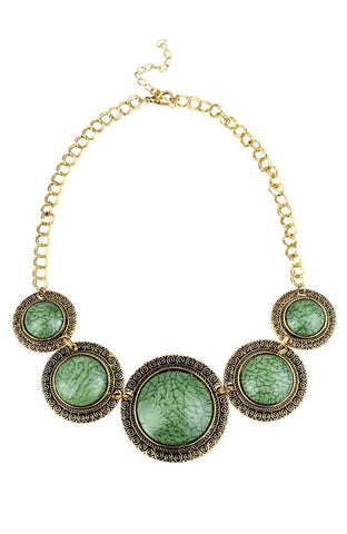 All-Seeing Guide Artifact Plastron Statement Necklace image1