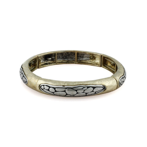 Metal Reptile Icon Bangle Simple Bracelet image1