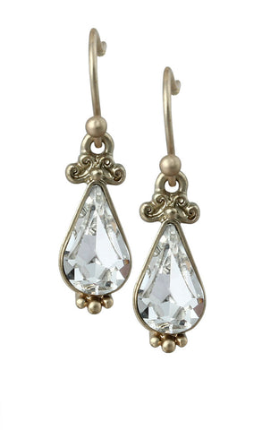 Victorian Bliss Gemstone Dangle Drop Statement Earrings image1