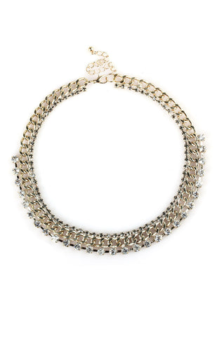 Eternity Brilliance Curb Chain Choker Necklace image1
