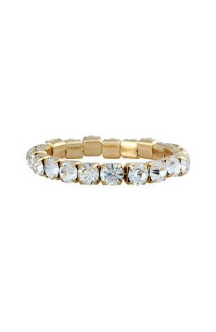 Forever Brilliance Exceptional Rhinestone Bangle Bracelet image1