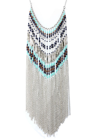 Enchantress Bib Strand Statement Necklace image1