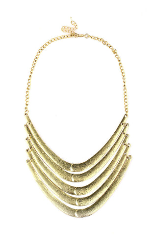 Age Dawn Warrior Platemail Statement Necklace image1