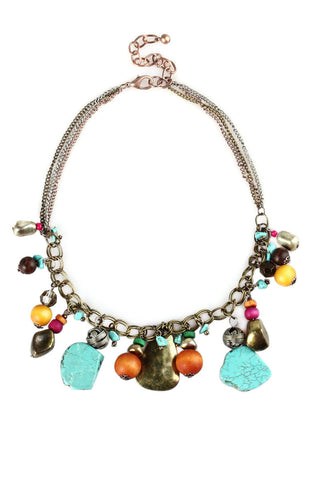 Sargasso Chunky Icon Choker Statement Necklace image1