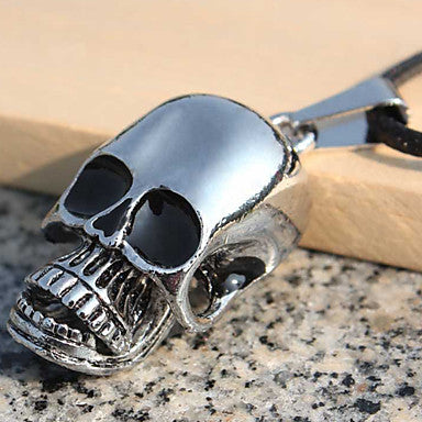 Men's Fashion Punk Skull Designs Easter Style Pendant Necklace