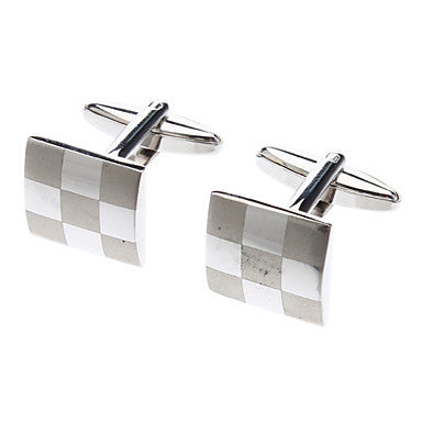 Square Drop Of Oil Cufflink