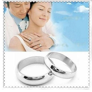 Fashion Simple Titanium Steel Couple Rings(Assorted Size)