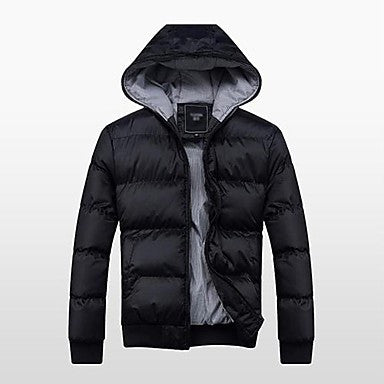 Men's Fashion Slim Casual Down Coat