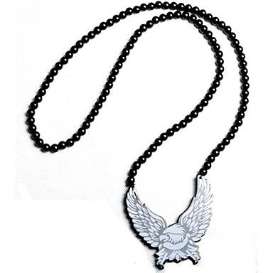 Eagle Pattern Acrylic Necklace