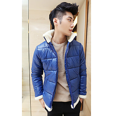 Men's Original Slim Stand Collar Coat
