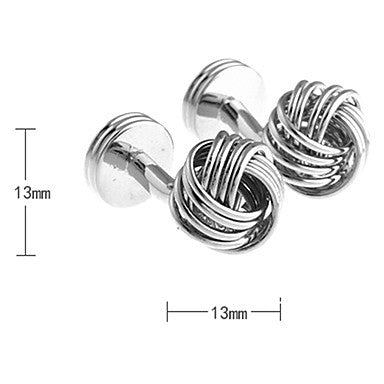 Men's Round Cufflinks(2 PCS)