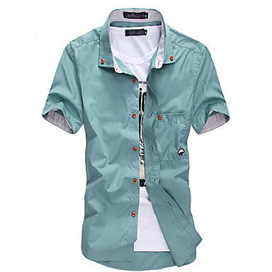 Men's Fashion Short Sleeve Shirt