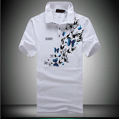 Men's New Arrive Fashion Short Sleeve Cotton T-shirt