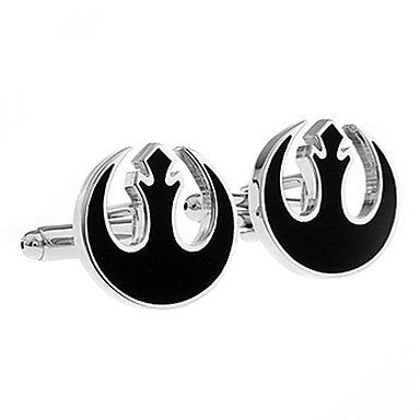 Men's Circle Cufflinks(2 PCS)