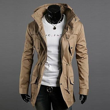 Men's double turtleneck leisure coat of cultivate One's morality men jacket color more JK23