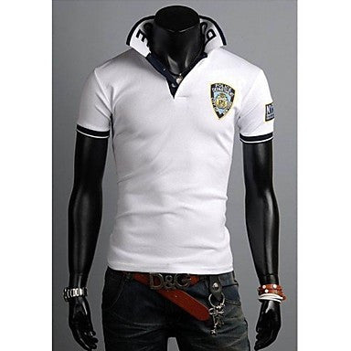 Men's Short Sleeve Fashion Casual Polo T Shirt