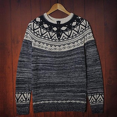 Men's Spring And Autumn Leisure Fashion Sweater