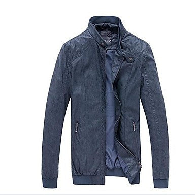 Men's Leisure Fashion Collar Wear Coat