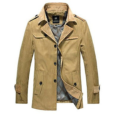 Men's Cultivate One's Morality Fashion A New Coat
