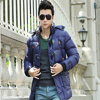 Men's Full Zip Hoodie Coat