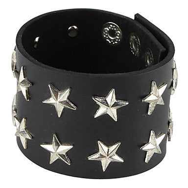 Retro Punk Style Star Decorated Bracelet