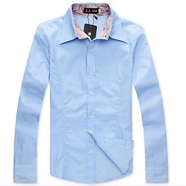 Men's High Quality Long Sleeved Shirt