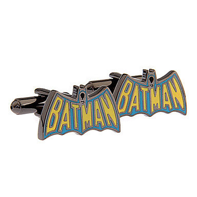 Men's BATMAN Toy Cufflinks(2 PCS)