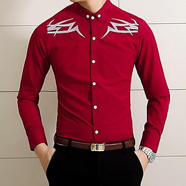 Men's Korean Cotton Non Iron Shirt