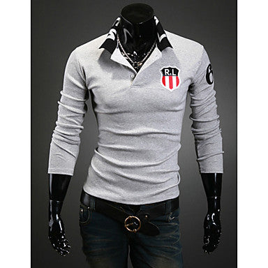 Casual Sport Style Polo T-Shirt