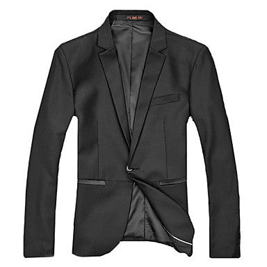 Men's Casual Suit Pocket Facing