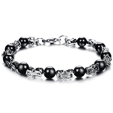 Health Caring Hot Sale Graceful Titanium Steel Hologram Bracelet(1 Pc)