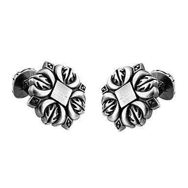 Men's Flower Cufflinks(2 PCS)